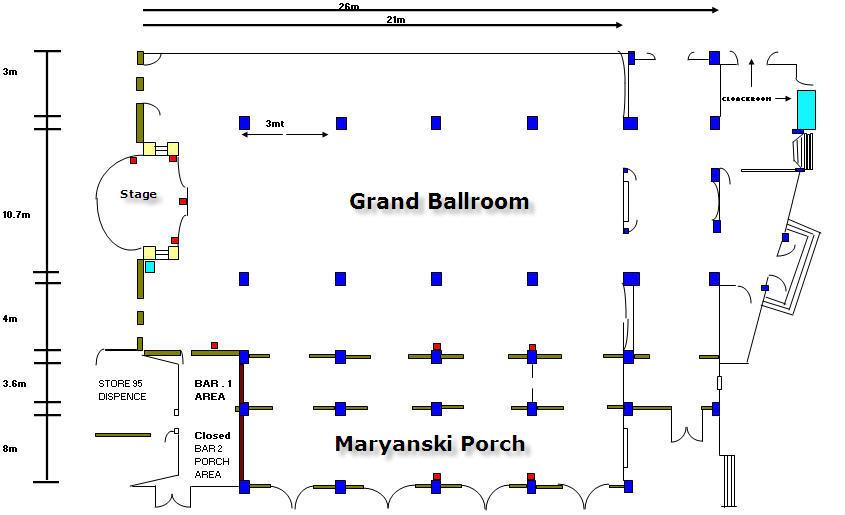 Grand Ballroom Plan