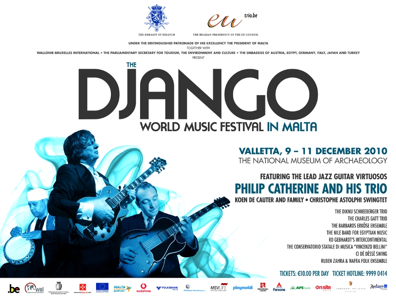 Django World Music Festival